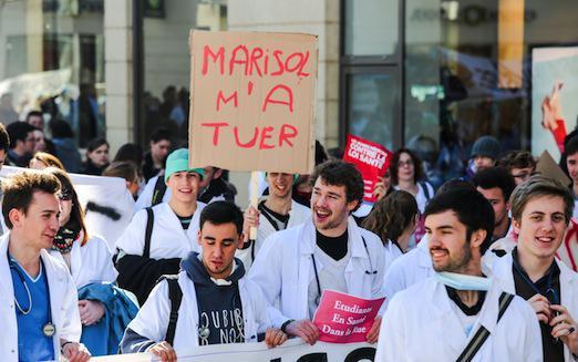 Loi de santé : plus de 20 000 blouses blanches attendues dans les rues de Paris
