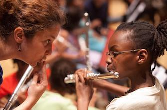Faire de la musique stimule la concentration des enfants