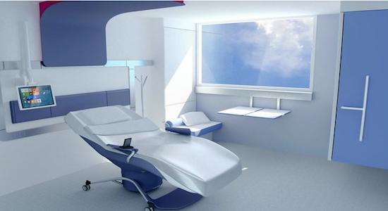 Une chambre qui soigne le patient