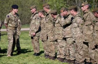 Obésité : 32 000 soldats britanniques échouent au test physique
