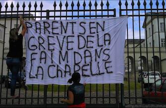 Hôpital de Garches : la police expulse des parents en grève de la faim