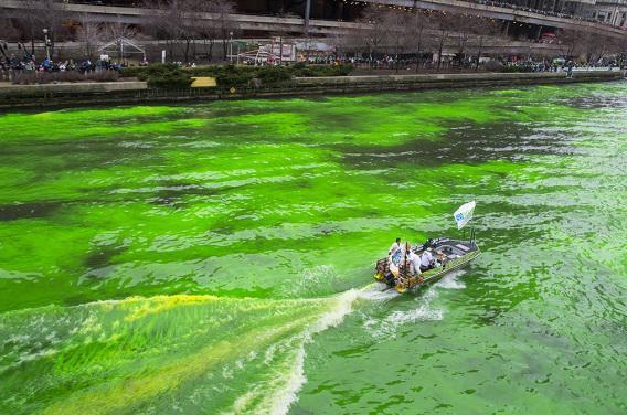 L'eau du Vieux-Port de Marseille passe au vert