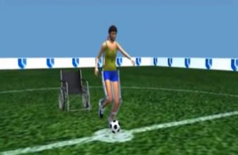 Un paraplégique donnera le coup d'envoi de la coupe du monde de football