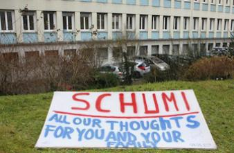 Des progrès dans l'état de santé de Michael Schumacher