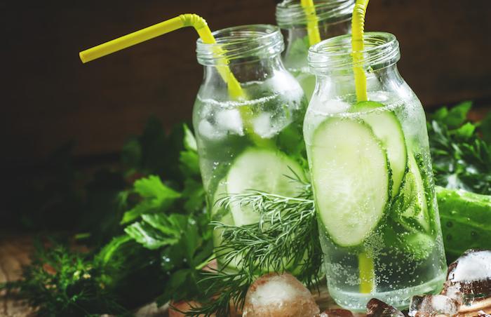 L'eau pétillante stimule la prise de poids