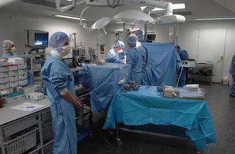 Les opérations de l'appendicite en chute libre chez les enfants