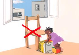 Chutes d'enfants par la fenêtre : l'INPES alerte les parents