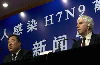 Grippe H7N9: l\'OMS reconnaît que le virus s\'est propagé en Chine