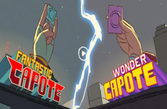 Deux supers héros expliquent le préservatif aux ados