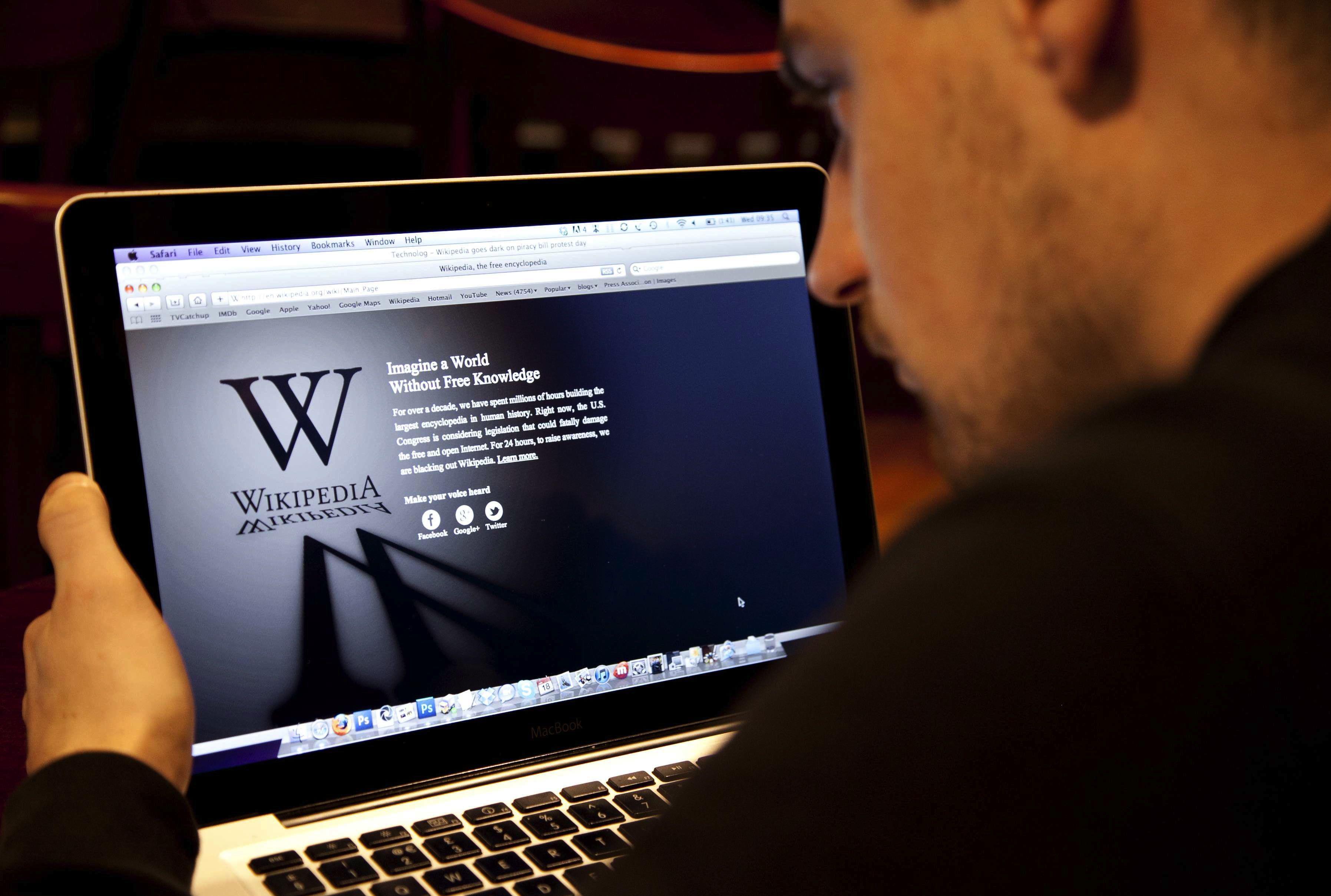 Wikipédia doit corriger ses informations santé