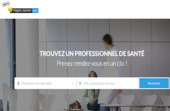PagesJaunes lance un outil de prise de rendez-vous médicaux en ligne