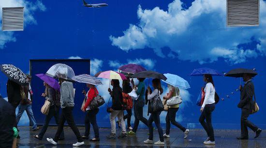 Oublier la météo pour garder le moral