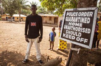 Ebola : des milliions de personnes en quarantaine en Sierra Leone