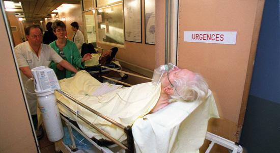 Trois fois moins de morts par infarctus en France