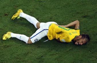 Mondial 2014 : pourquoi Neymar ne peut pas jouer la demi-finale