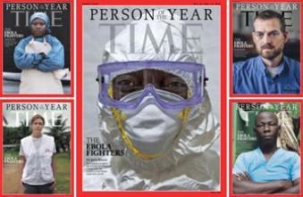 Les combattants d'Ebola élus « personnalité de l'année »