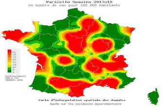 Plusieurs régions confrontées à une flambée de varicelle