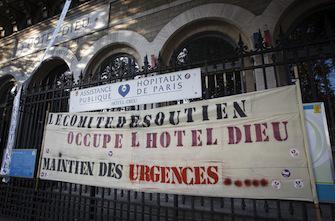 Fermeture mouvementée des urgences de l'Hotel-Dieu