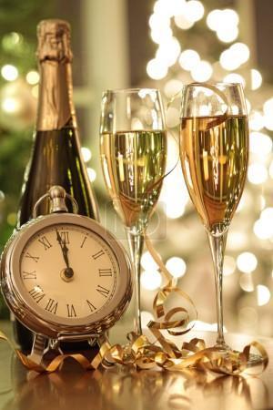Chaque réveillon à une signification: Noël c'est là d'où l'on vient et la St Sylvestre c'est là où on va!