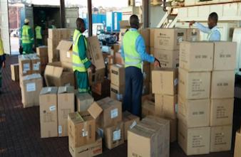 Médicaments contrefaits : saisie record dans 14 pays africains