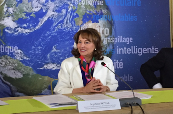Zéro pesticide : l'objectif de Ségolène Royal
