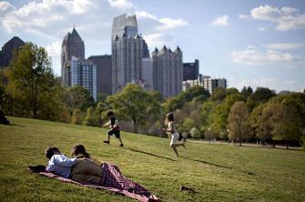 Les espaces verts améliorent durablement la santé mentale