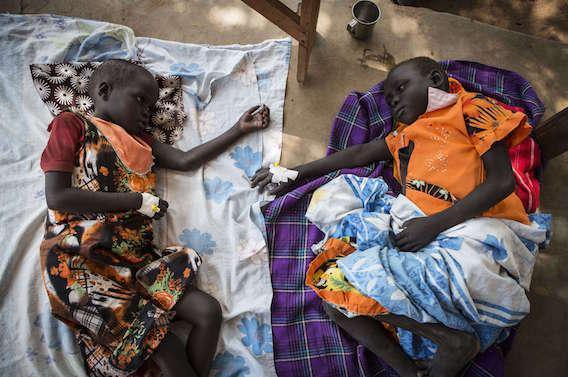 Soudan du Sud : 1200 cas de choléra et déjà 39 morts