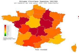 10 millions de Français ont consulté pour une grippe