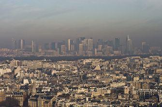 Pollution : alerte élevée en région parisienne