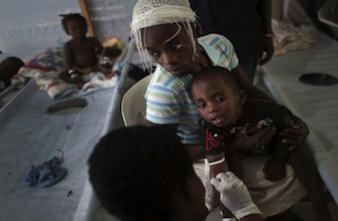 Choléra: un vaccin oral prouve son efficacité en pleine épidémie