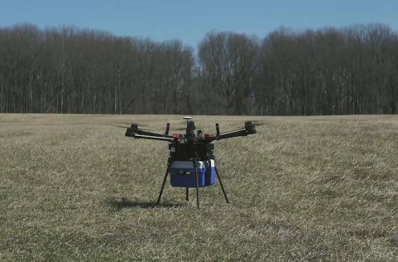 Drone : un transport sûr pour les produits sanguins
