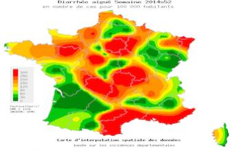 Gastro-entérite : cinq régions au dessus du seuil épidémique