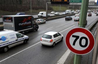 Périphérique : limiter la vitesse pour réduire le nombre d'accidents