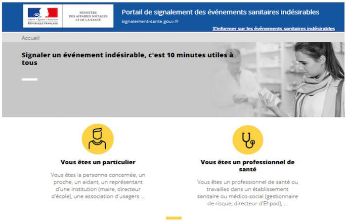 Sécurité sanitaire : un site citoyens pour déclarer les effets indésirables