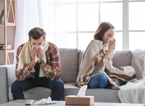 Les mariés partagent aussi... leurs maladies !