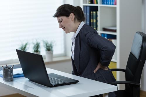 Accidents du travail : le nombre de lombalgies en nette augmentation