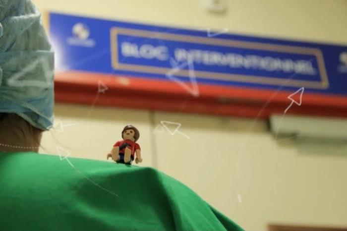 Actes médicaux: des Playmobil pour les expliquer aux enfants