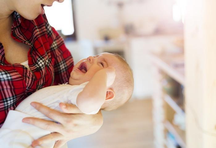Les bébés  pleurent plus en Italie qu'aux Pays-Bas