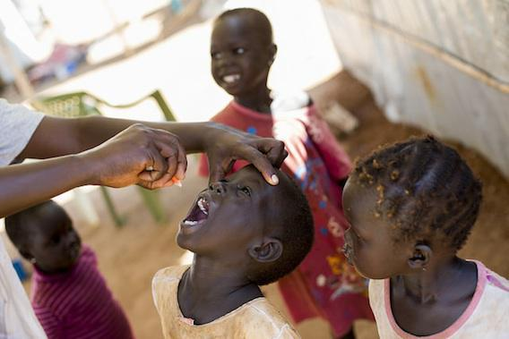 Poliomyélite : l'éradication totale se profile