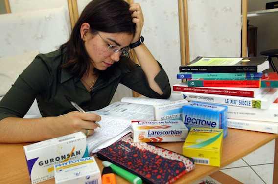 Etudiants en médecine : un sur trois a recours à des psychostimulants