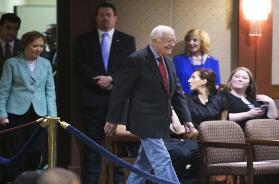 Jimmy Carter traité pour un cancer au cerveau