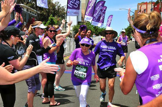 Une nonagénaire effectue un marathon au profit de la lutte contre le cancer