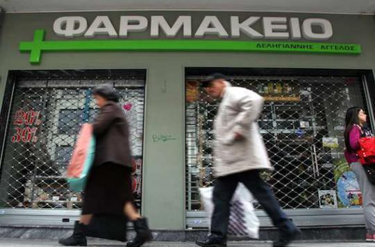 Médicaments : la Grèce bloque les exportations pour éviter une pénurie