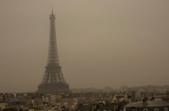 Pollution aux microparticules : alerte en Île-de-France
