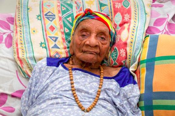 113 ans et 8 mois  : la nouvelle doyenne française est Guyanaise