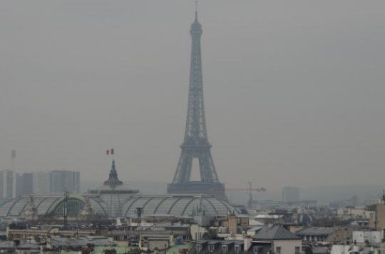 Pollution : l'épisode à l'ozone pourrait durer sur Paris
