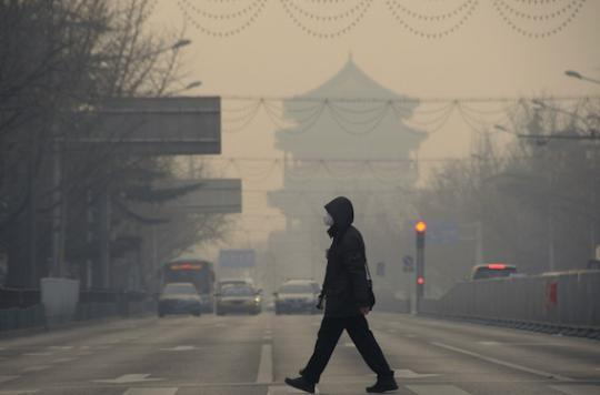 Pic de pollution : les Chinois ne respirent plus