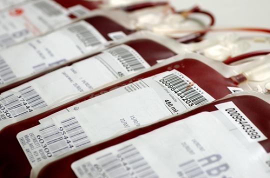 Collecte de sang : la grippe fait baisser le nombre de donneurs