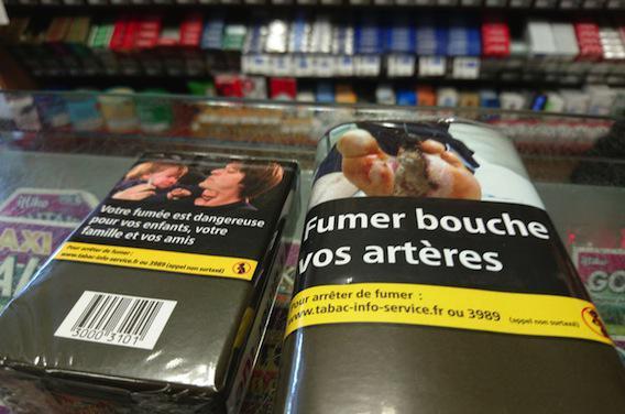 Tabac : les buralistes ne recevront plus que des paquets neutres