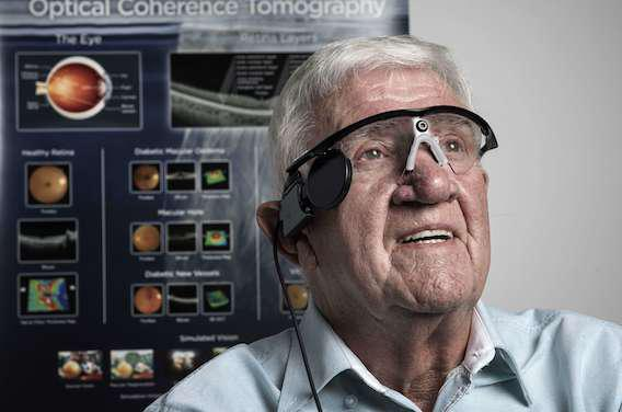 DMLA sèche : l'oeil bionique au secours de millions de malades